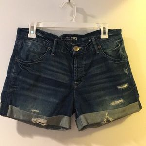Hudson boyfriend denim shorts